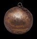 Spherical incense burners from thie period, very few of which have survived, were hung from the ceiling or from the vault of an arch, while an ingenious system of gimbals inside the sphere stabilized the burning incense in the swinging container.